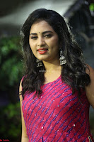 Srushti in beautiful Pink Sleeveless Dress Cute Actress Dimples ~  Exclusive 004.JPG
