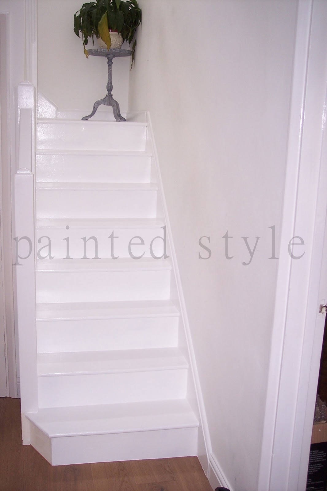 Painted Stairs Revealed