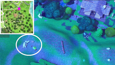 Fortnite, Skeet Shooting Location, Clay Pigeon Location, Lonely Lodge, Map