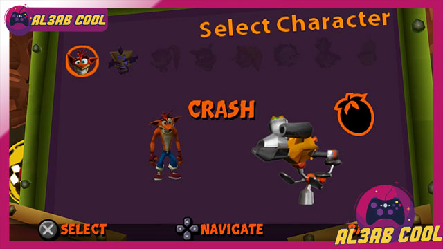 كراش تاج تيم ريسينغ crash tag team racing 2020 psp