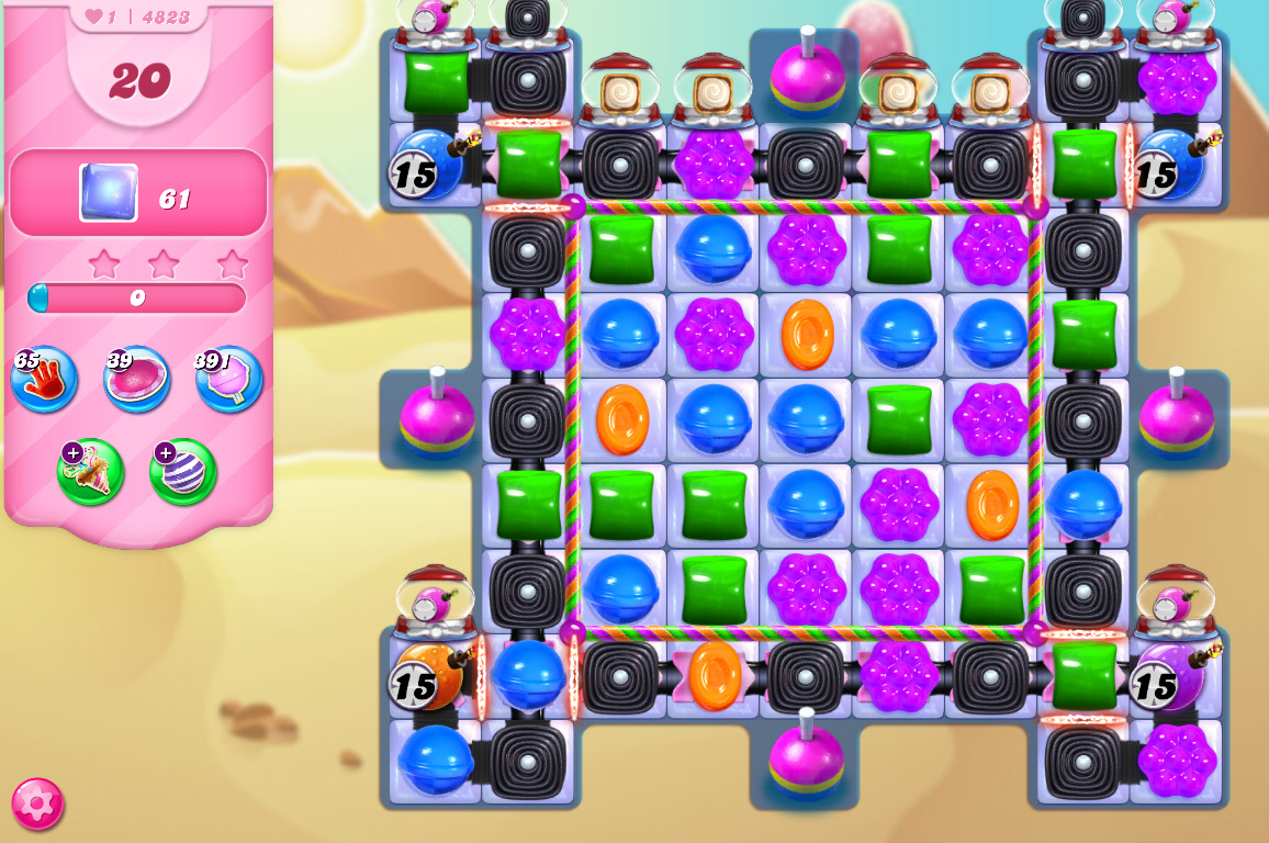 Candy Crush Saga level 4823