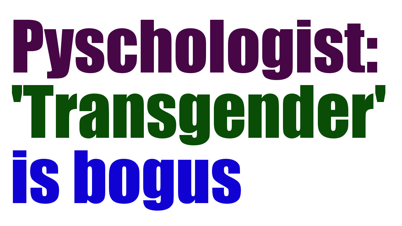 transgender physcology