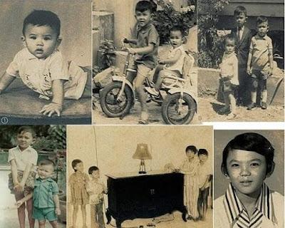 Foto Ahok masa kanak-kanak