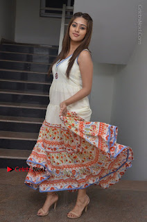 Telugu Actress Anu Emmanuel New Stills in Beautiful White Long Dress  0084.JPG