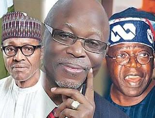 apc crisis; Buhari oyegun and tinubu