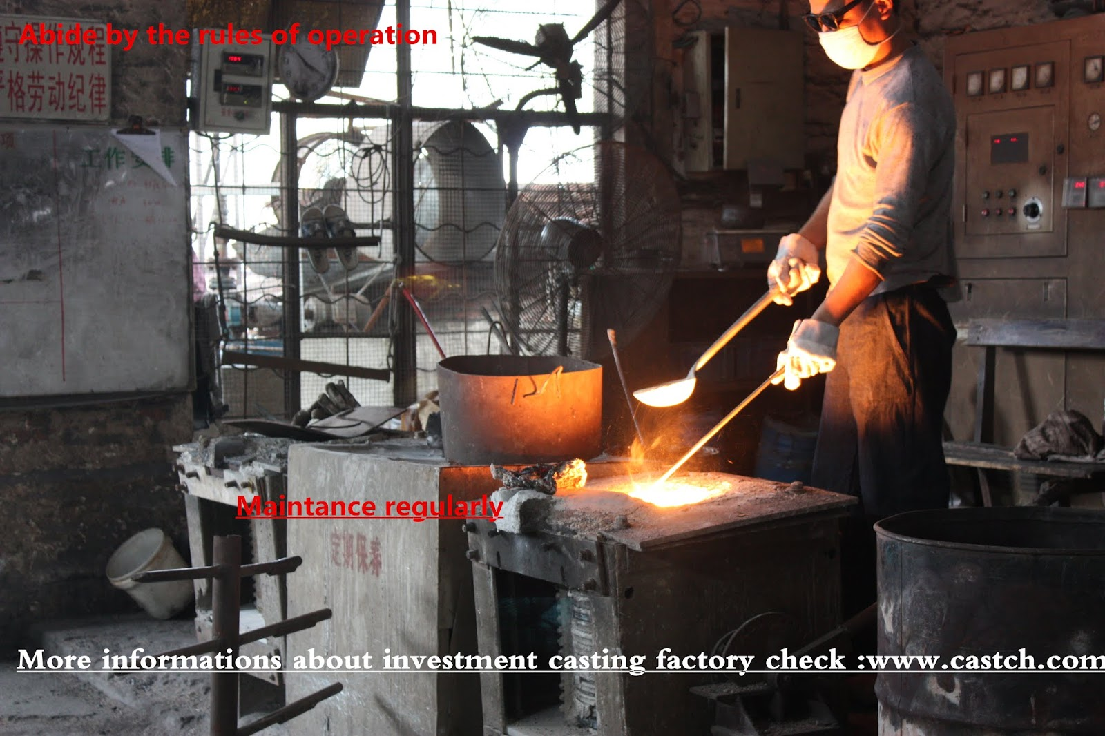 which is the professional manufacture for investment casting: OEM