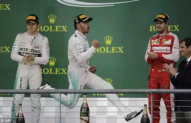 Lewis Hamilton Wins His Third F1 World Championship