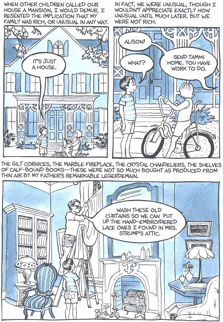 Read Fun Home: A Family Tragicomic - Chapter 1, Page 4