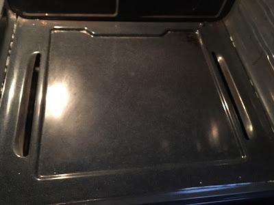 Clean oven floor