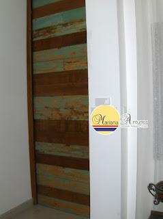 decoração porta dedemolição