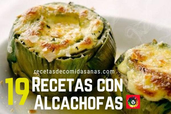19 Recetas de Alcachofas hay cientos, hoy te presentamos estas deliciosas recetas