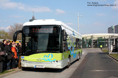 Solaris Urbino 12 electric dla Braunschweiger Verkehrs AG z systemem indukcyjnego ładowania PRIMOVE firmy Bombardier