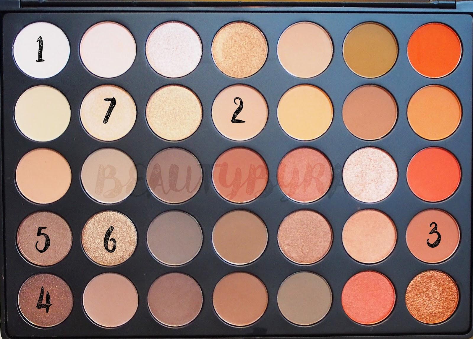 Morphe Brushes 35O Eyeshadow Palette Makeup Tutorial
