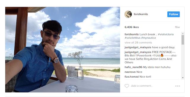 Farid Kamil Instagram
