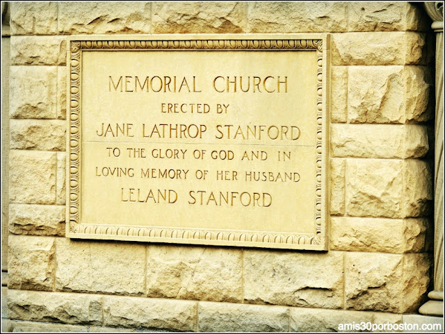 Memorial Church, Universidad de Stanford