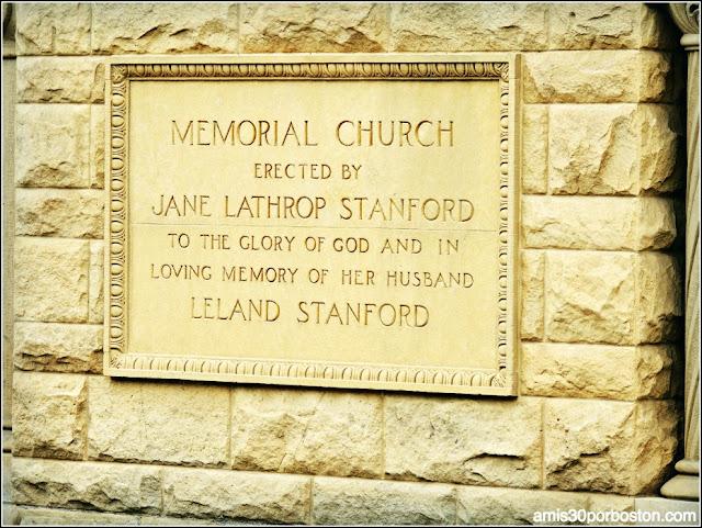 Memorial Church, Universidad de Stanford