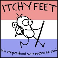 ITCHY FEET in Dutch!