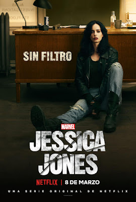 Jessica Jones -Segunda temporada - poster España