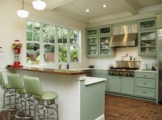Modern Kitchen Interior Design Tips Retro Style