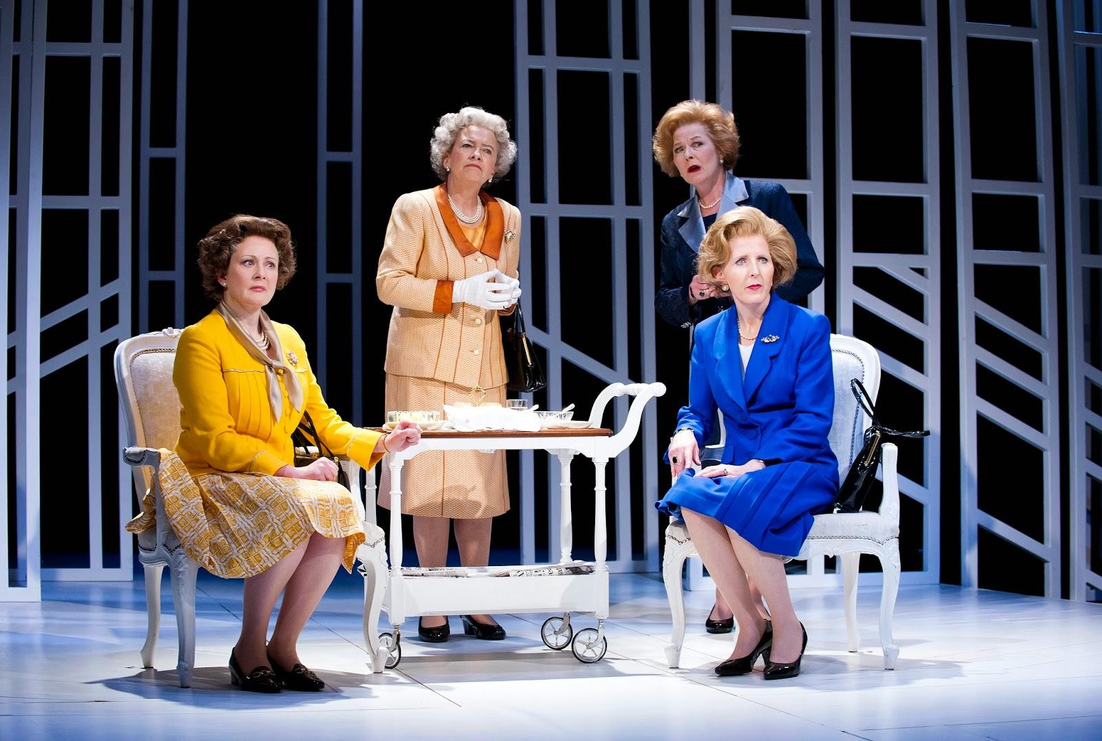 Theatre Review Handbagged The Vaudeville London