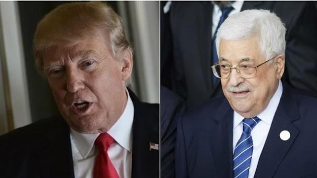 US President Donald Trump invites Palestinian President Mahmoud Abbas to White House