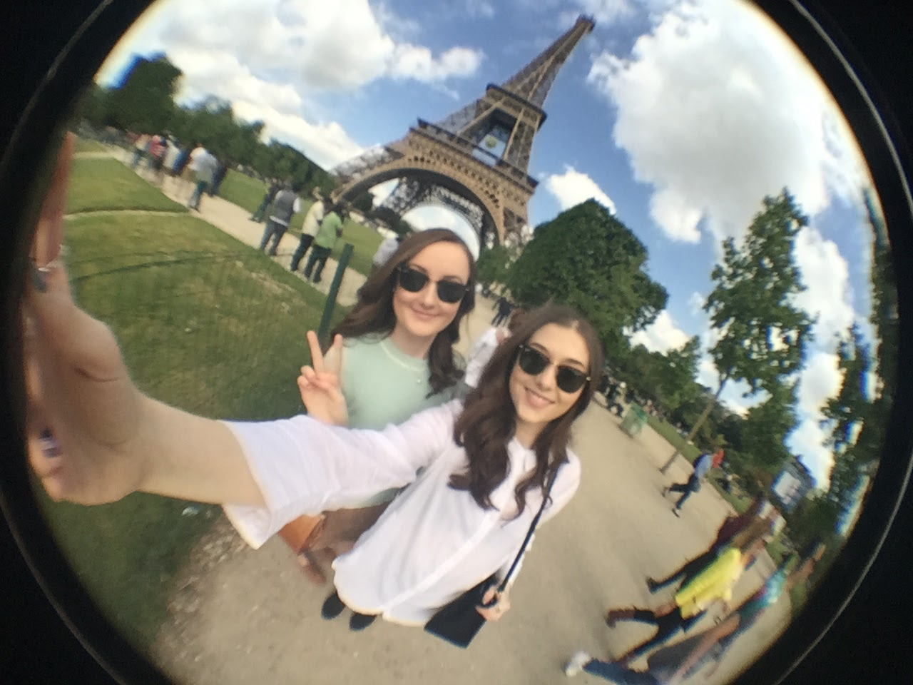 Eiffel Tower Fisheye