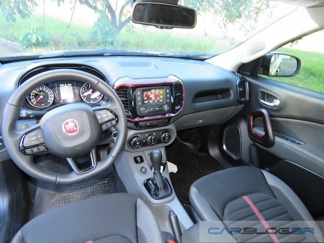 Fiat Toro 1.8 Flex AT - Painel