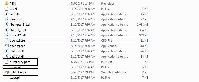 Code Samples: openssl