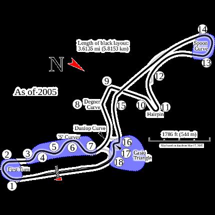 Jadwal dan Hasil Formula 1 Satu One Suzuka Jepang 2017 F1