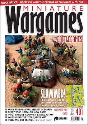Miniature Wargames 401, September 2016