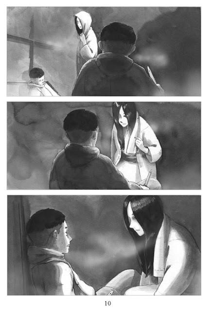 Neige d'amour – la légende de Yuki Onna éditions Asiatika page 10