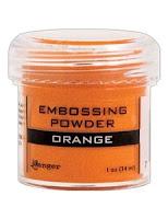 Orange Embossing
