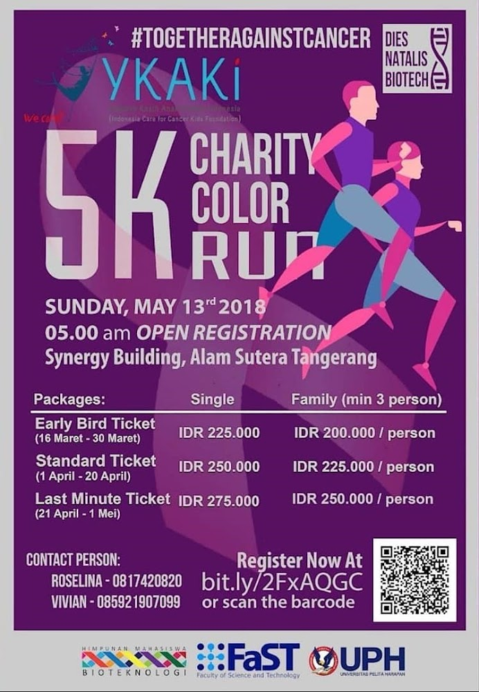 5K Charity Color Run • 2018