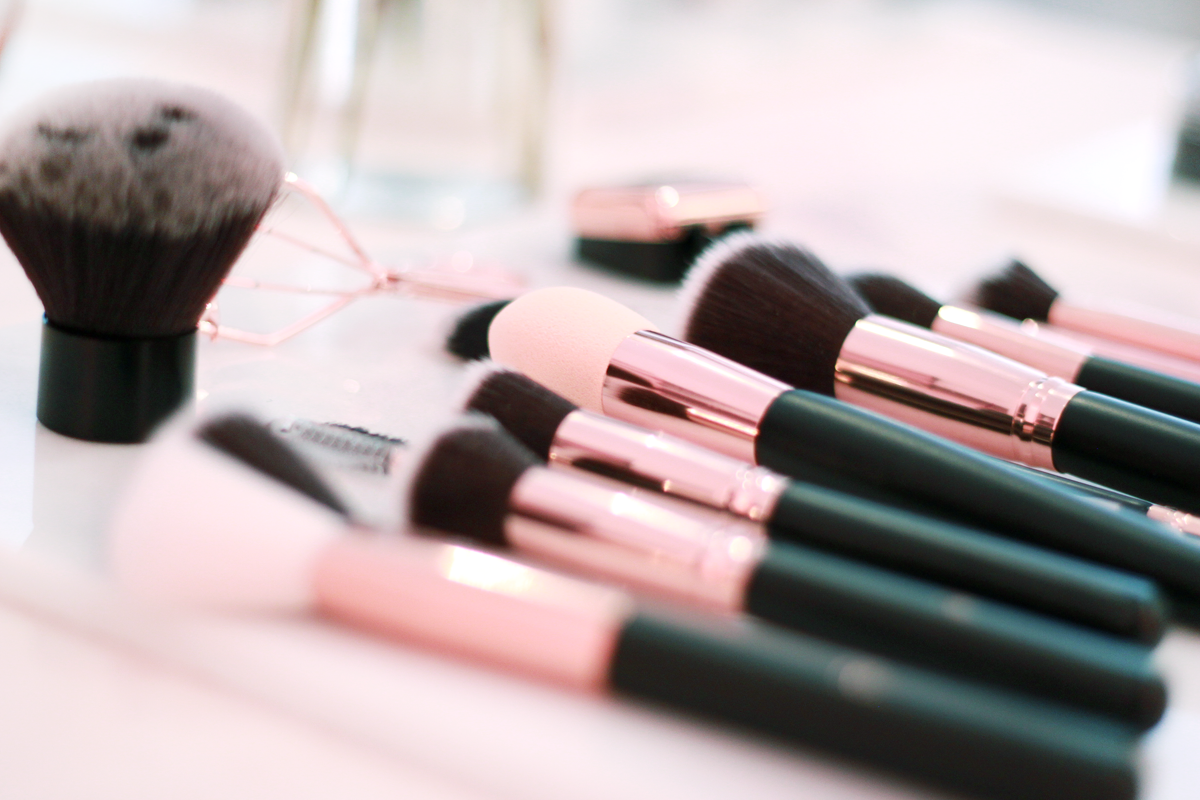 Primark Rose Gold Makeup Brushes