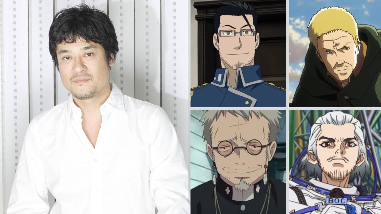 Keiji Fujiwara i jego role w anime