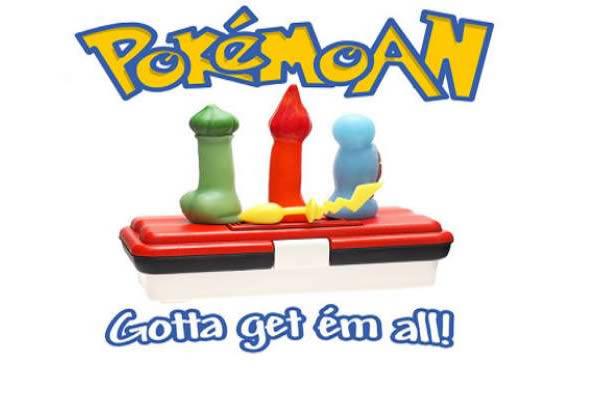dildo atau alat bantu seks pokemon go