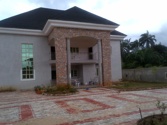 cobble stone cladding at mbaise imo state