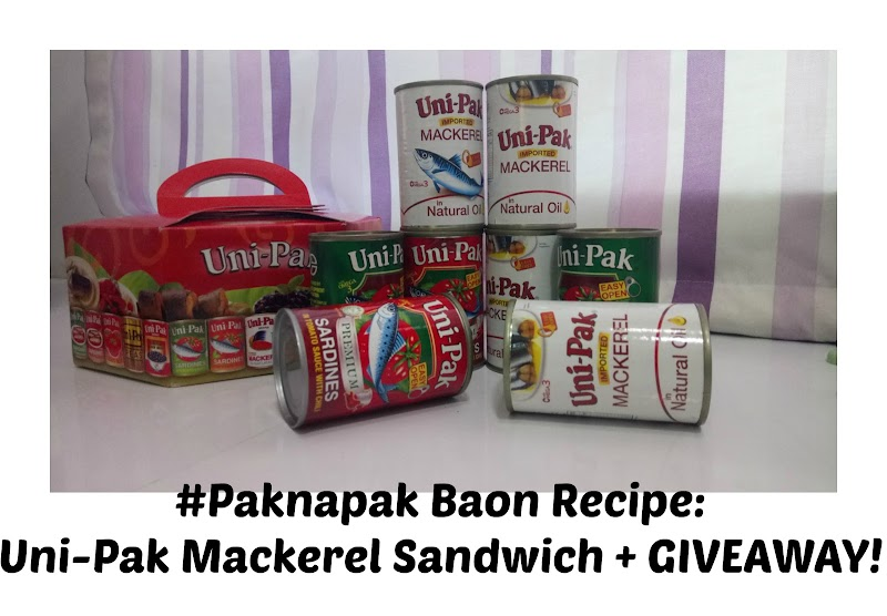 #Paknapak Baon Recipe: Uni-Pak Mackerel Sandwich + GIVEAWAY!