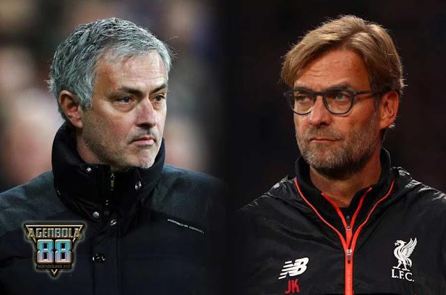 Jose Mourinho dan Jurgen Klopp