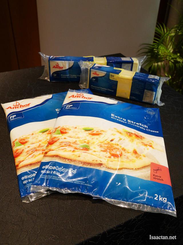 Anchor brand cheese