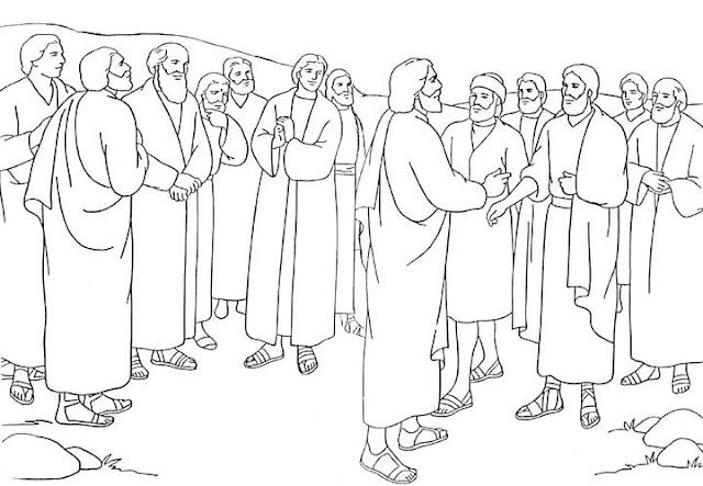 Jésus nomme ses disciples