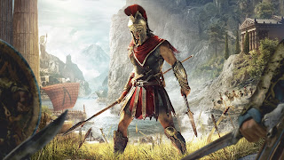 Assassin's Creed Odyssey PS4 Wallpaper