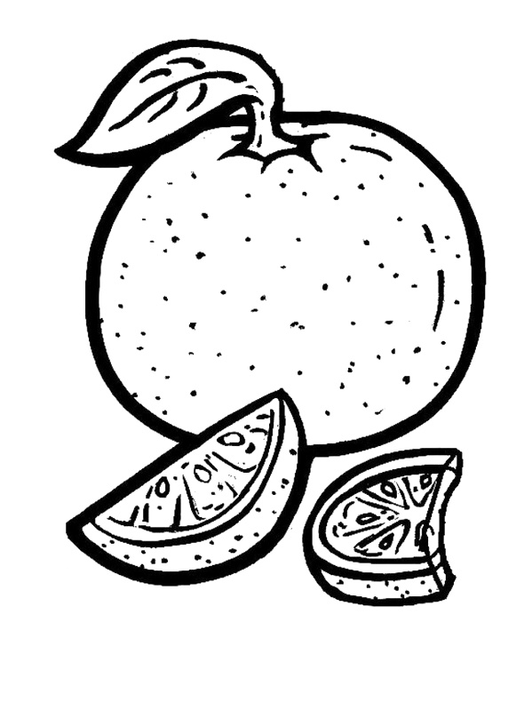 lemon coloring pages - photo #36