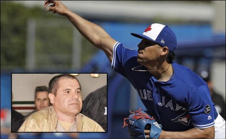 Roberto Osuna, el beisbolista que ve a El Chapo como un héroe