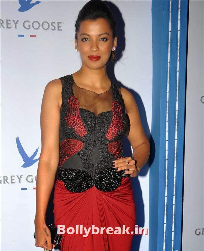 Mughda Godse, Bollywood Celebs Sizzle at Grey Goose Style Du Jour 2013