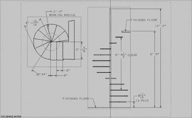 How to Build Circular Staircase