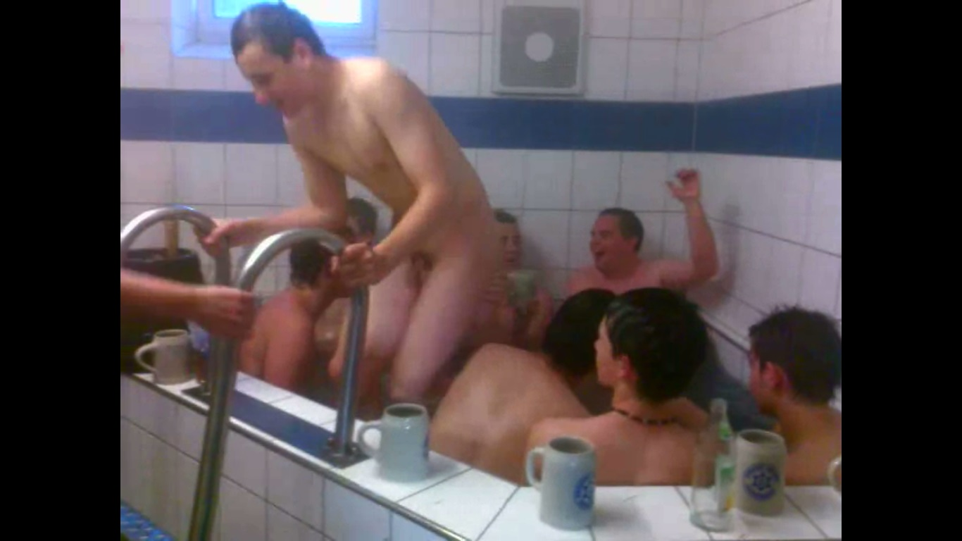 bathroom naked boys