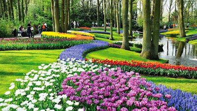 Jasa Tukang Taman Surabaya Taman Gaya Eropa