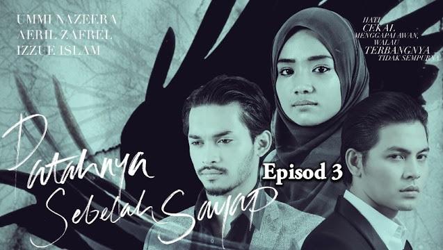 Tonton Online Drama Patahnya Sebelah Sayap Episod 3 (HD)