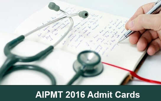 AIPMT 2016 Rank Cards Download